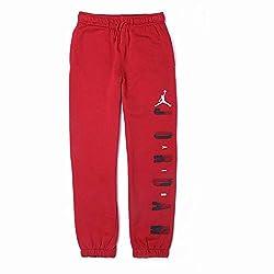 Jordan Boys' Track Pant (617844268819_Red_10 - 11 Years)