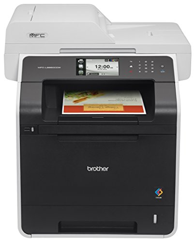 Brother Printer MFC-L8850CDW Wireless Color Laser Printer with Scanner, Copier and Fax