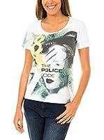 883 Police Camiseta Manga Corta Bushido Turkey (Blanco)