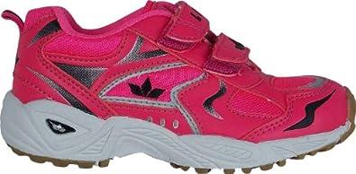 Lico Unisex - Child Bob V Indoor Shoes  Pink Neonpink Size: 25