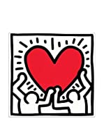 Artopweb Panel Decorativo Haring Untitled, 1988 27x27 cm
