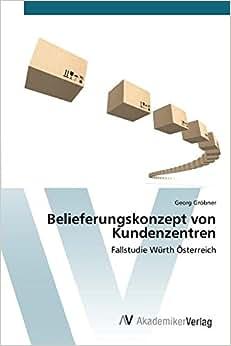 Download e-book Belieferungskonzept von Kundenzentren (German Edition)