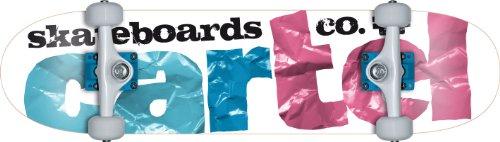 """Cartel - Skateboard Craft, Blu (blu/rosa), 31,5"""" x 7,8"""""""
