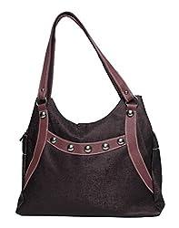 Glory Fashion Women's Stylish Handbag Brown BB-001-B041