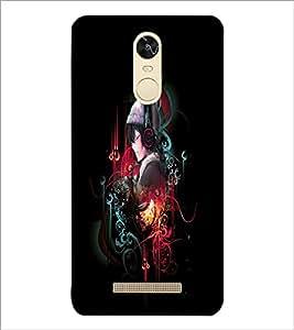 PrintDhaba Music Girl D-4548 Back Case Cover for XIAOMI REDMI NOTE 3 (MEDIA TEK) (Multi-Coloured)