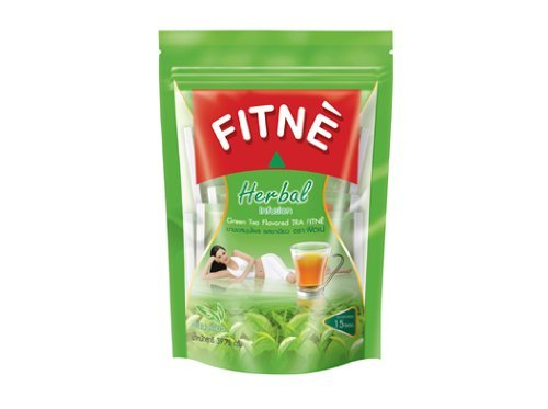 Fitne Herbal Infusion Green Tea Flavored Fitne 15 Sachets ( Pack Of 2 )