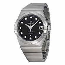 buy Omega 123.10.38.21.51.001 Constellation Men'S Co-Axial 38Mm Diamond Watch
