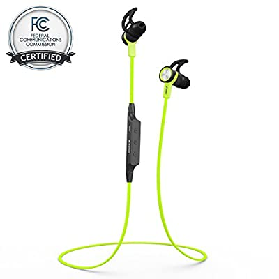 "Bluetooth Headset Headphones BHS-710 by phaiserâ""¢ [Stereo Music] with LifeStateâ""¢ Technology + BONUS **FREE Carrying Pouch** - Wireless Handsfree In Ear Earphones + Microphone with A2DP - Backed by 12 Months Warranty and Our Premium 100% Satisfaction Mo"