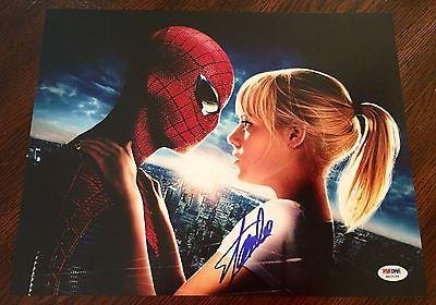 Stan Lee Signed The Amazing Spiderman 1 2 3 11X14 Photo W/ Coa #3 - Ps