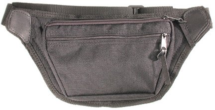 Ambidextrous Fanny Pack with Gun Concealment - Small - Black - Bagmaster by Bagmaster