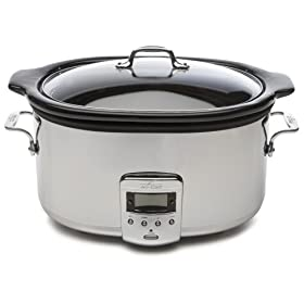 All-Clad 99009 Stainless-Steel 6-1/2-Quart Slow Cooker