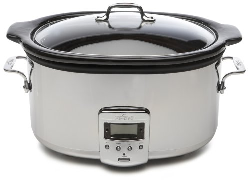 Digital Slow Cookers: All-Clad 99009 Stainless-Steel 6-1/2-Quart Slow Cooker