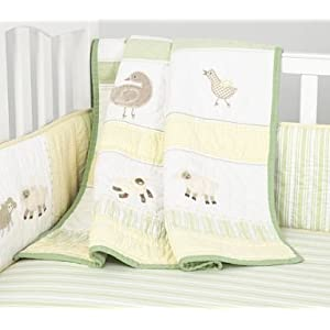 Childrens Nursery Bedding on Amazon Com  Pottery Barn Kids Cottontail Friends Nursery Bedding  Baby