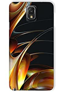 IndiaRangDe Case For Samsung Galaxy Note 3 N9000 N9002 N9005 (Printed Back Cover)