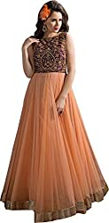 Bridal Collection orange gown