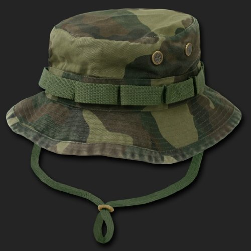 d40ded6e841499 U.S. MILTARY ACU CAMO MILITARY WOODLAND BOONIE HAT CAP HATS MEDIUM Review