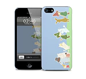 Amazon.com: cute moomin iPhone 5 / 5S protective case ...