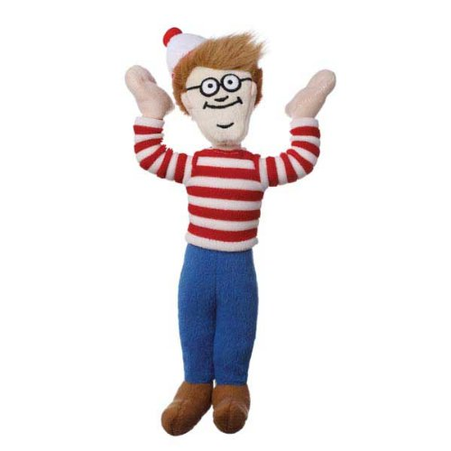 Multipet Plush Dog Toy, Where's Waldo at Amazon.com