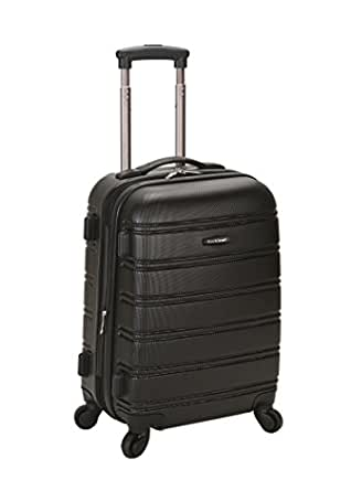 Rockland Luggage Melbourne 20 Inch Expandable Abs