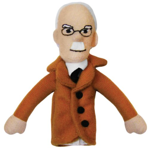 Carl Jung Finger Puppet and Refrigerator Magnet - By The Unemployed Philosophers Guild - 1
