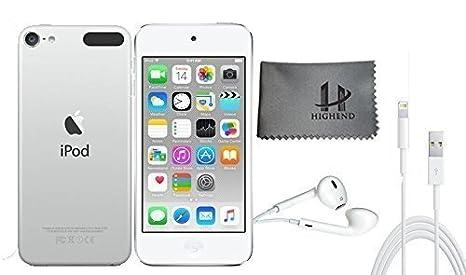 Apple iPod Touch 64 Go - Argent + Accessoires supplémentaires 6ème génération **Nouveau Modèle Juillet 2015**