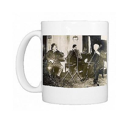 Photo Mug Of Einstein Plays Violin From Mary Evans