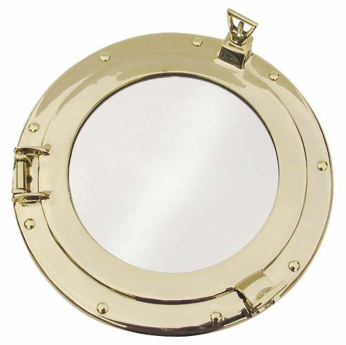 Porthole mirror, round, Nautical Decoration, Gift