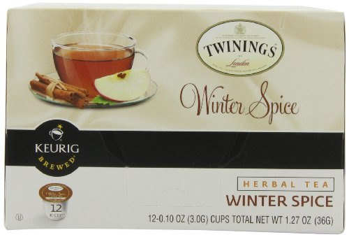 Twinings K Cup Tea, Winter Spice, 12 Count