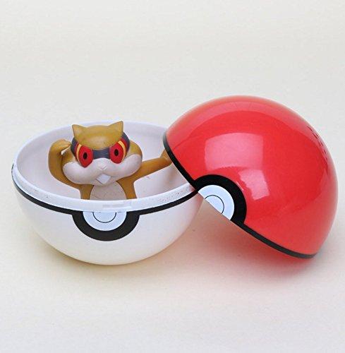 Pokemon Poké Ball Styles Action Figure Toy Gift Set Piggy Bank Styles May Vary (Random)