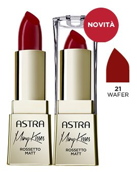 Many Kisses - Rossetto Matt & Pearl 21 Wafer