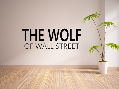 Custom The Wolf Of Your Street Wall Sticker Personalised front-632895