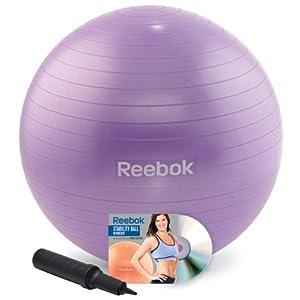 Reebok 55cm Stability Ball Kit with DVD