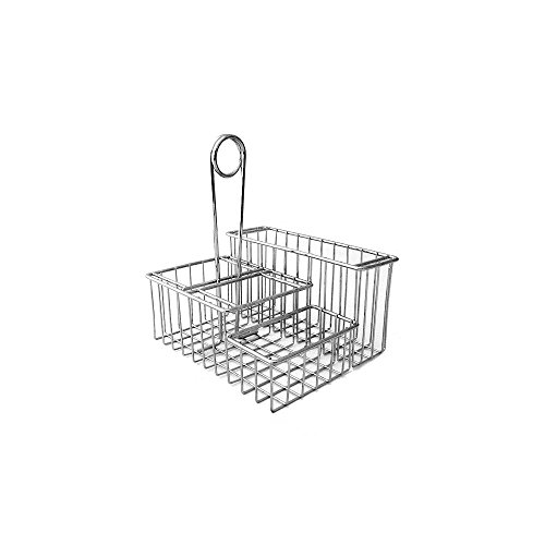 Clipper Mill 4-21699 4-Compartment Chrome Table Caddy (Tabletop Supply Caddy compare prices)