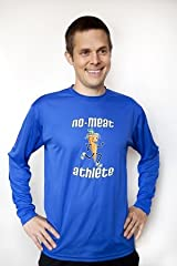 Men's Blue Long Sleeve Technical Shirt