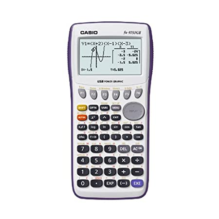 This graphing calculator with an onscreen icon-driven menu provides easy access to advanced functions and is allowed during AP, SAT, PSAT/NMSQT, and ACT college exams. Slide cover included.