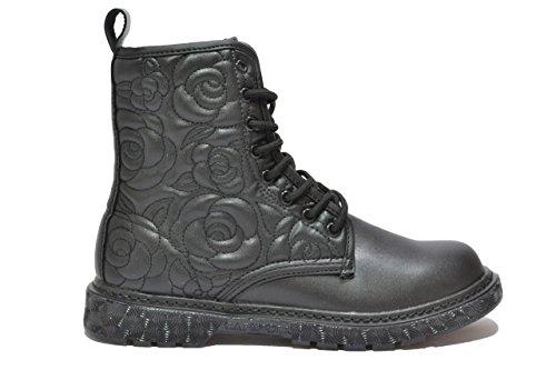 CafÈnoir Anfibi stivaletti nero scarpe donna FH901 39