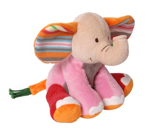 Happy Horse Fancy Baby Plush Doll, Elephant Gaby