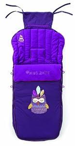 Jané Nest Plus - Saco de abrigo para sillas y carritos, color morado (080473 R79) marca Jané