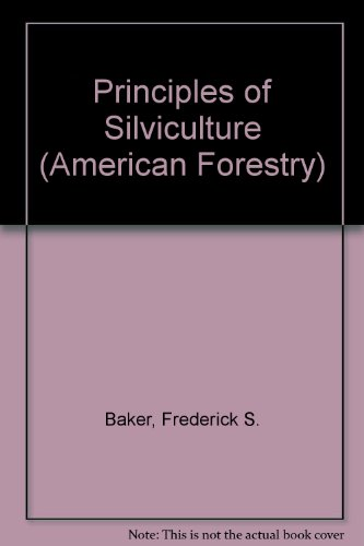 Principles of Silviculture (American Forestry) PDF