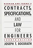 img - for Dunham and Young's Contracts, Specifications, and Law for Engineers 4 Sub edition by Bockrath, Joseph (1986) Hardcover book / textbook / text book