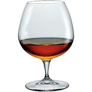 Bormioli Rocco Premium Cognac Glasses, Clear, Set of 6 by Bormioli Rocco