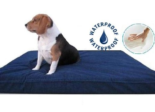 DogBed4Less Thick Orthopedic Grade Pet Bed - Blue, 37