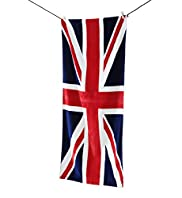 Union Jack Print Beach Towel