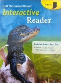 Holt McDougal Biology Interactive Reader (Ans.Key for Interactive Reader) Indiana Edition