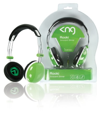 KNG Rooki Innocent Sinner Designer Headphones - Green