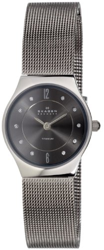 Skagen Women's Crystal Accented Mesh Watch 233XSTTM