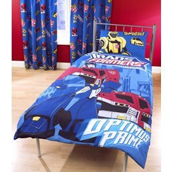 transformers robot truck linge de lit pour lit. Black Bedroom Furniture Sets. Home Design Ideas