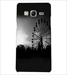 PrintDhaba Giant Wheel D-2346 Back Case Cover for SAMSUNG Z3 (Multi-Coloured)