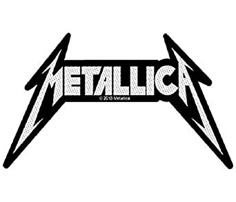Metallica Logo Official New Cut Out Patch