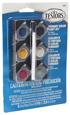 TESTOR CORPORATION 9001 0.10-Ounce Prim Acrylic Pod Set - 1
